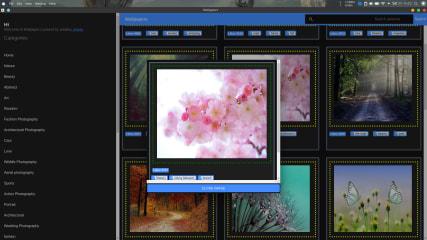 wallpapers screenshot