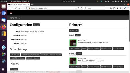 ps-printer-app screenshot