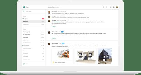 Google Chat Electron (Unofficial App) screenshot