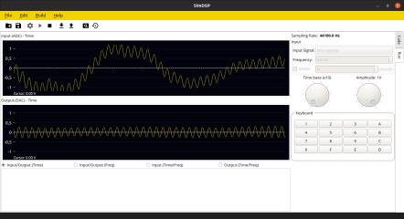 SimDSP screenshot