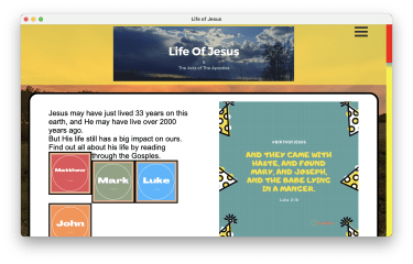 Life of Jesus app by SunBible screenshot