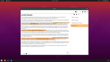 Motes - modern notes screenshot