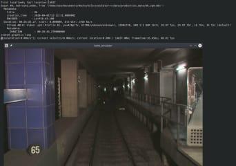 libtrainsim reference implementataion screenshot