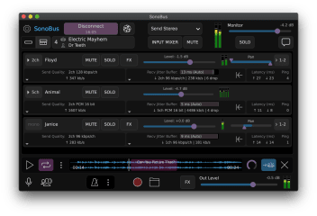 SonoBus screenshot