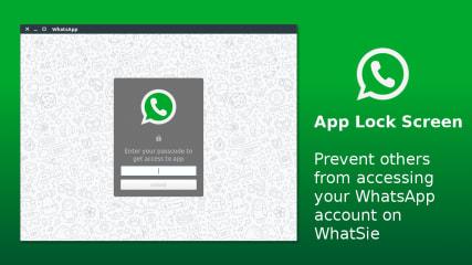 WhatSie - WhatsApp for Linux screenshot