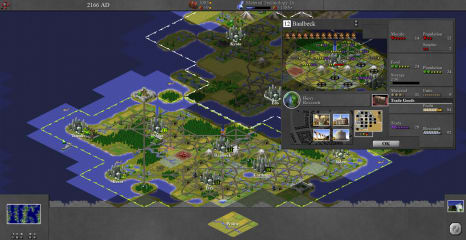 C-evo: New Horizons screenshot