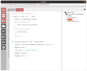 Pcynlitx Intelligent IDE screenshot