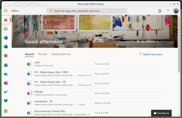 Office365WebDesktop screenshot