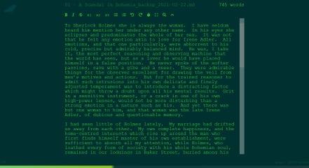 Poe screenshot