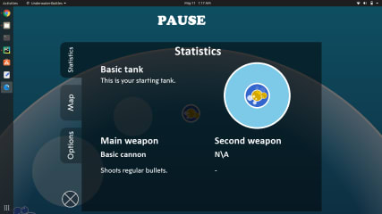 Underwater Battles - RPG shooter Game screenshot