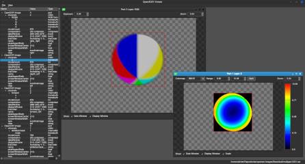 OpenEXR Viewer screenshot