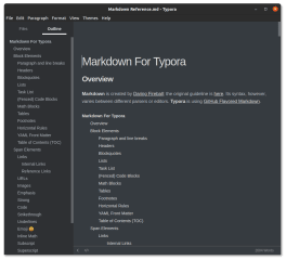 typora screenshot