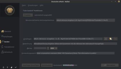 Deutsche eMark screenshot