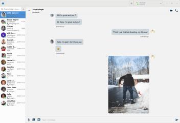 Jami (GNOME client) screenshot