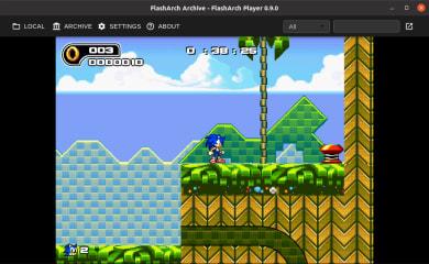 FlashArch - Adobe Flash SWF Player screenshot