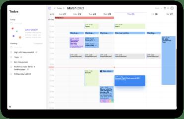 Morgen Calendar screenshot