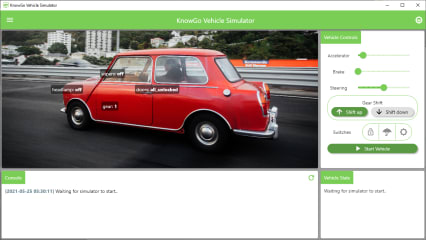 KnowGo Vehicle Simulator screenshot
