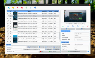 JPG2PDF PRO - Image To PDF Converter screenshot