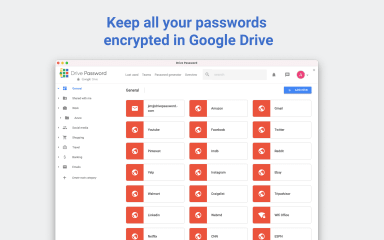 Drive Password - Password Manager screenshot