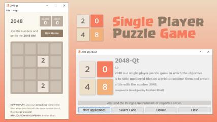 2048 - Puzzle game screenshot