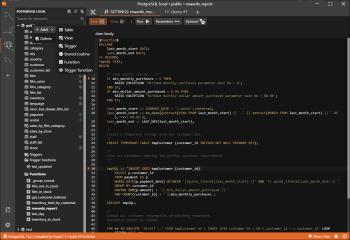 Antares SQL Client screenshot