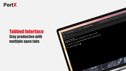 PortX - SSH Client screenshot