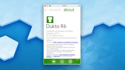 dukto screenshot