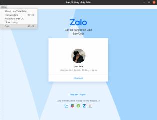 Zalo Chat Unofficial screenshot
