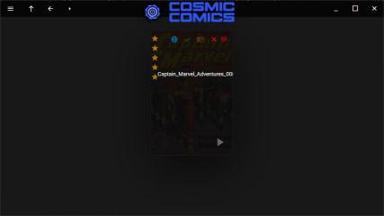 Cosmic Comics screenshot