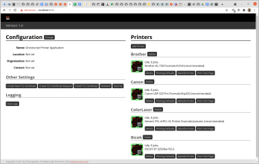 ghostscript-printer-app screenshot
