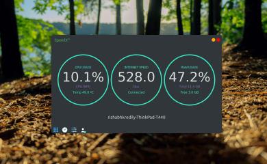SPEEDX - Internet Speed Monitor screenshot