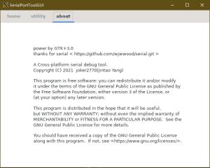 serialporttoolgui screenshot