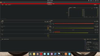 btop screenshot