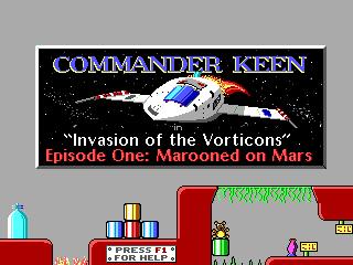 Commander Keen Shareware screenshot