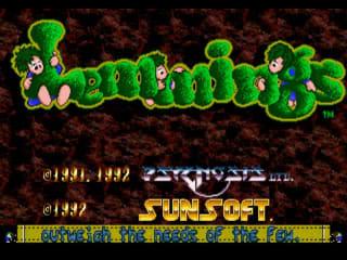 Lemmings Demo Version screenshot