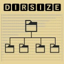 Icon for DirSize