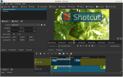 Install Shotcut on CentOS using the Snap Store | Snapcraft