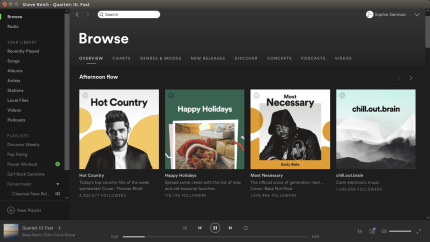 Install Spotify for Linux using the Snap Store | Snapcraft