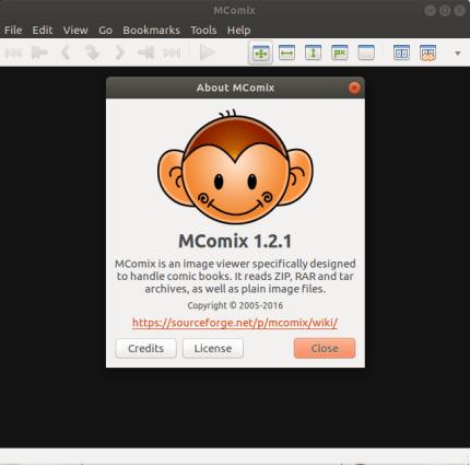 Install mcomix-tabetai on Manjaro Linux using the Snap Store