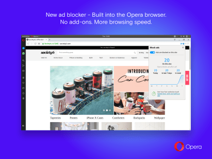 Install Opera for Linux using the Snap Store | Snapcraft