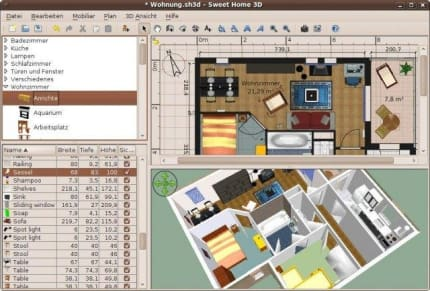Install Sweethome3d Homedesign For Linux Using The Snap Store | Snapcraft