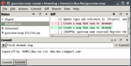 Install git-cola on Linux Mint using the Snap Store | Snapcraft