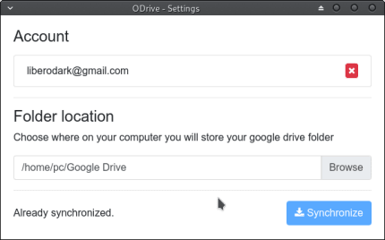 Install Open Drive (Google Drive Client) on Linux Mint using the