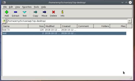 Install P7Zip - Desktop on CentOS using the Snap Store