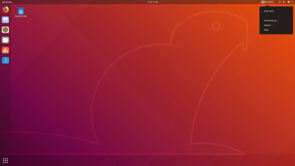 Install Hardware Sensors Indicator for Linux using the Snap Store