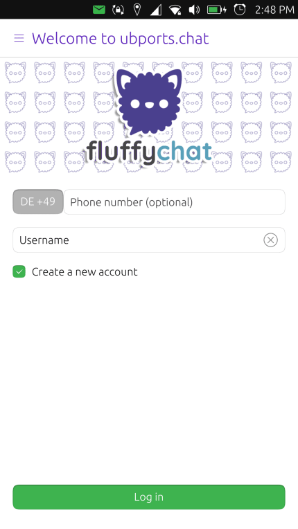 Install FluffyChat on elementary OS using the Snap Store