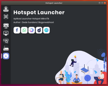 Install hotspot-launcher on CentOS using the Snap Store