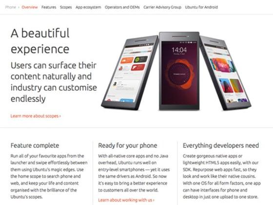 Ubuntu.com with no wrapper