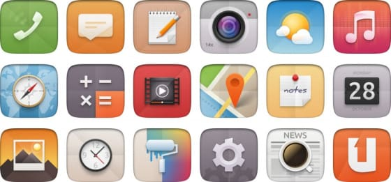 Latest application icons