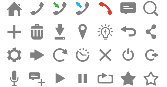 Latest symbol icons